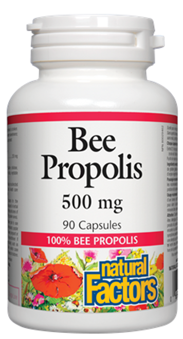 Natural Factors: Bee Propolis (500mg) (90 Capsules)