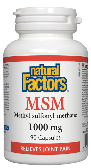 Natural Factors: MSM (90 Capsules)