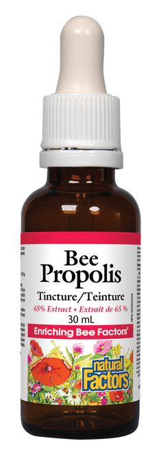 Natural Factors: Bee Propolis 65% Tincture (30ml)