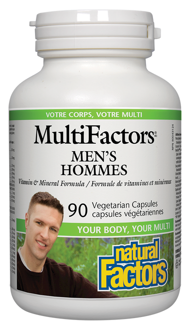 Natural Factors: MultiFactors Men's (90 Vegetarian Capsules)