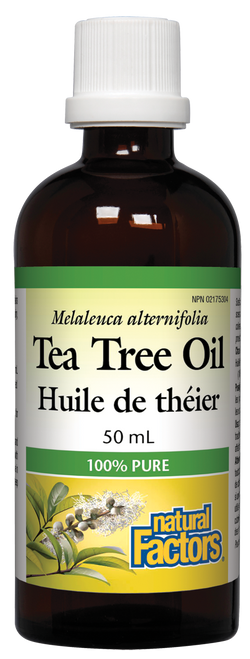 Natural Factors: Tea Tree Oil (50ml)