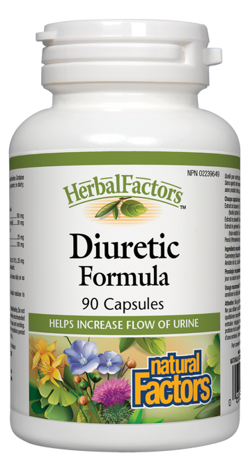 Natural Factors: Diuretic Formula (90 Capsules)