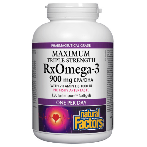 Natural Factors: Rx Omega-3