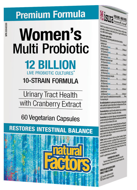 Natural Factors: Women's Multi Probiotic (60 Vegetarian Capsules)