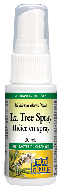 Natural Factors: Tea Tree Spray (30ml)
