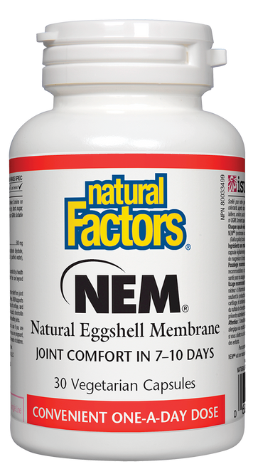 Natural Factors: NEM (500mg) (30 Vegetarian Capsules)