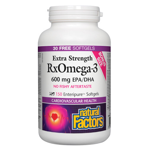 Natural Factors: RxOmega-3 Factors (Bonus)