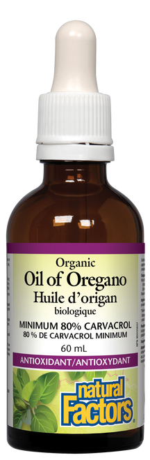 Natural Factors: Oregano Oil - Certified Organic (60ml)