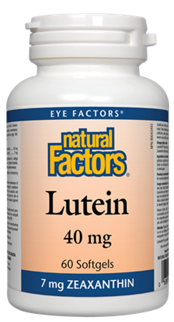 Natural Factors: Lutein (40mg) (60 SoftGels)