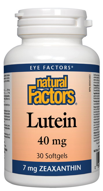 Natural Factors: Lutein (40mg) (30 SoftGels)