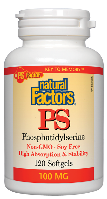 Natural Factors: PS Phosphatidylserine (100mg) (120 SoftGels)