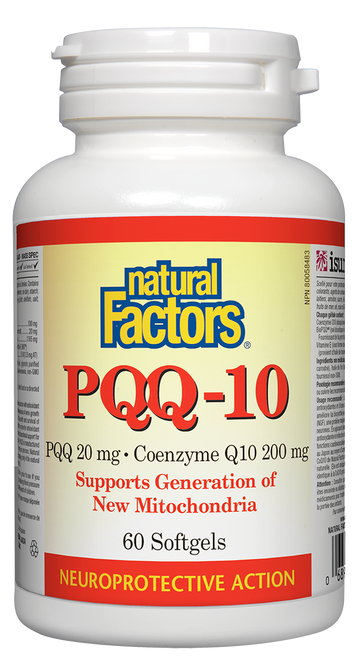 Natural Factors: PQQ-10 (60 Softgels)