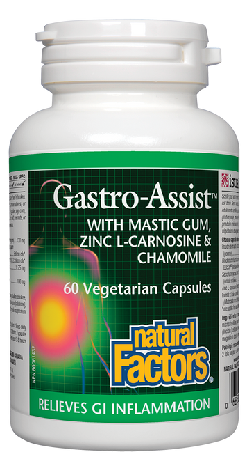 Natural Factors: Gastro-Assist (60 Vegetarian Capsules)