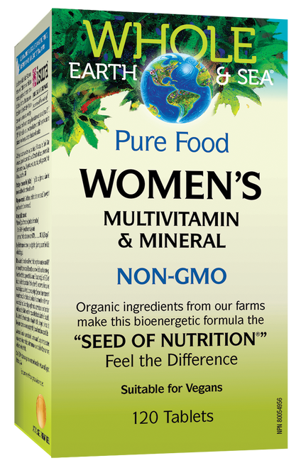 Whole Earth & Sea: Women's Multivitamin & Mineral (120 Tablets)