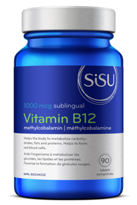 Sisu: Vitamin B 12 Methylcobalamin 1000mcg (90 Tablets)