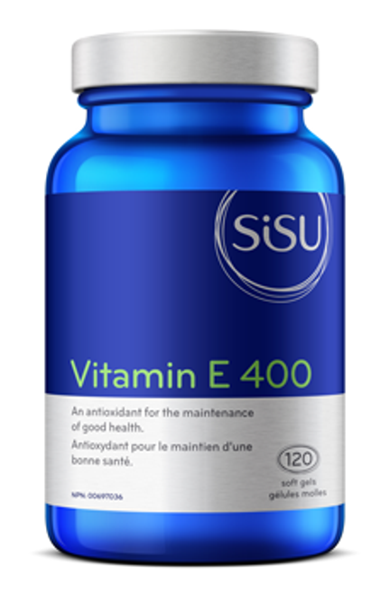 Sisu: Vitamin E (400iu) (120 Softgels)