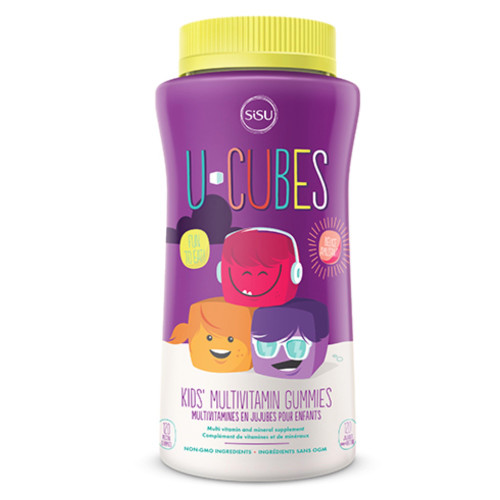Sisu: U-Cubes Kids' Multivitamin (120 Gummies)