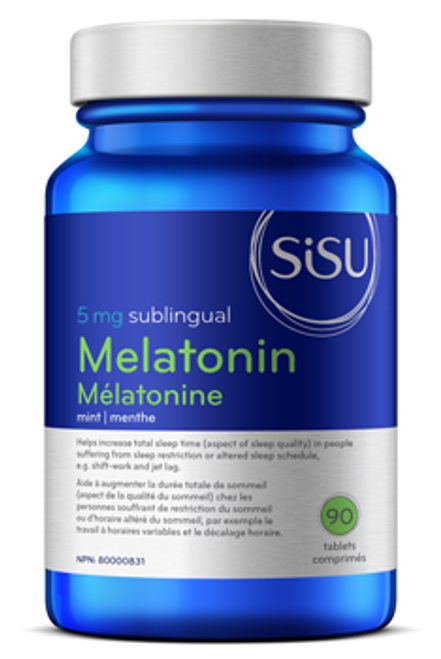 Sisu: Melatonin (5mg) (90 Tablets)