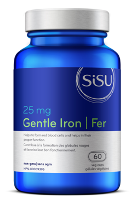 Sisu: Gentle Iron 25mg (60 Veg Caps)