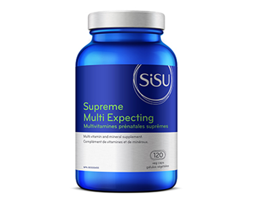Sisu: Supreme Multi Expecting (120 Vegetable Capsules)