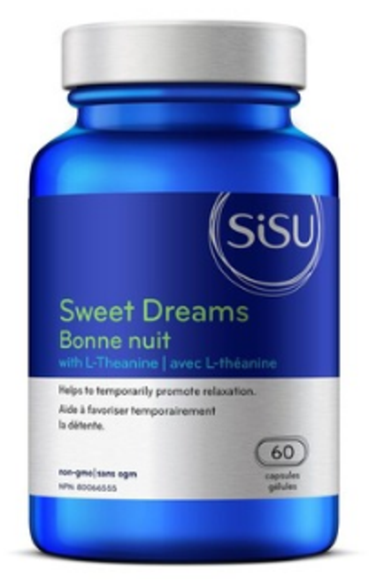 Sisu: Sweet Dreams with L-Theanine (60 Capsules)
