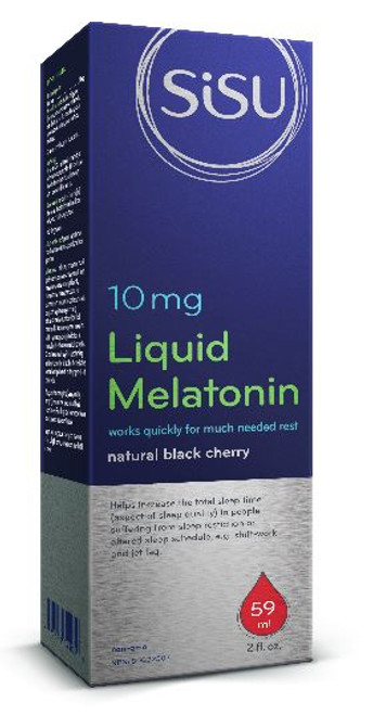 Sisu: Liquid Melatonin 10mg (59mL)