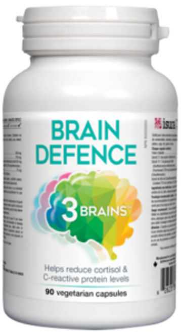 3 Brains: Brain Defense (90 Vegetarian Capsules)