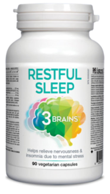 3 Brains: Restful Sleep (90 Vegetarian Capsules)