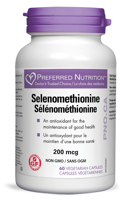 Preferred Nutrition Inc.: Selenomethionine (60 VCaps)