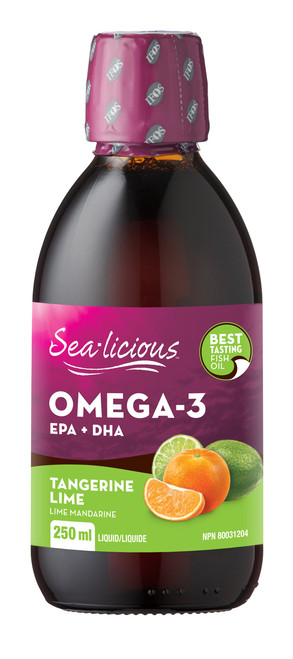 Sea-licious: Omega-3 EPA + DHA - Tangerine Lime (250ml)