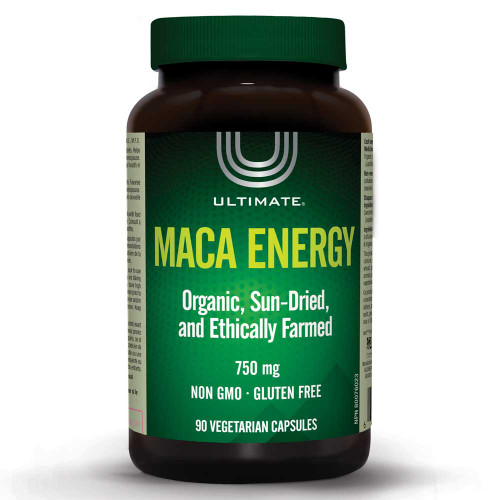 Ultimate: Maca Energy (90 Vegetarian Capsules)