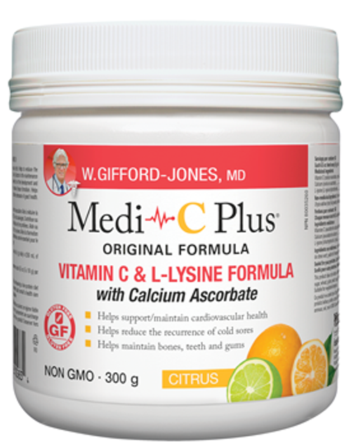 W Gifford-Jones Medi C Plus Citrus With Calcium Ascorbate