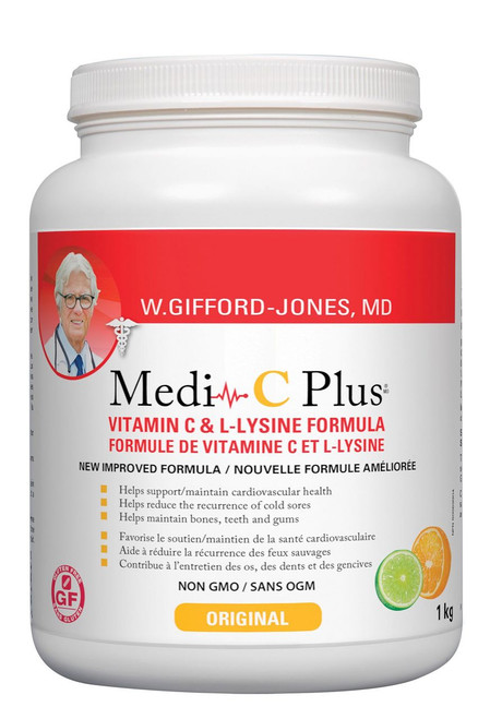 W. Gifford-Jonesf Medi C Plus With Calcium Ascorbate - Citrus