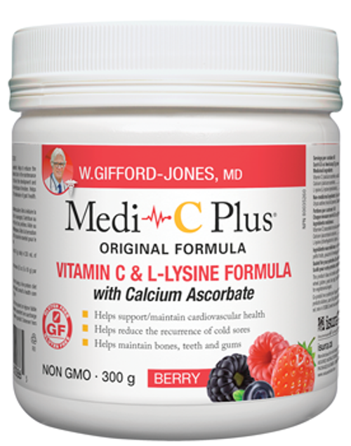 W. Gifford-Jones Medi-C Plus  With Calcium Ascorbate - Berry