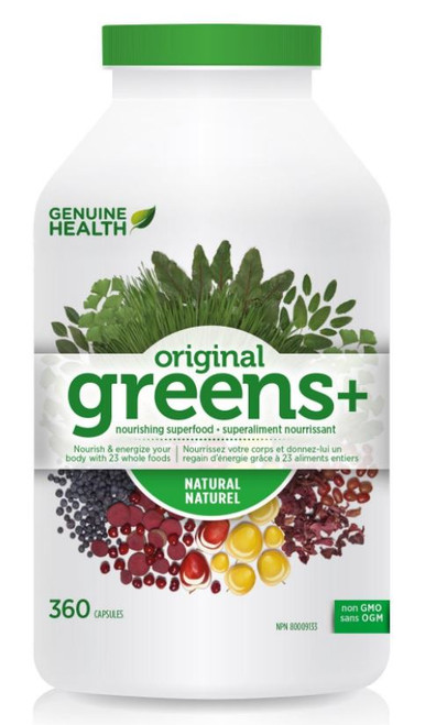 Genuine Health Greens+ Original Natural (360 vcaps)