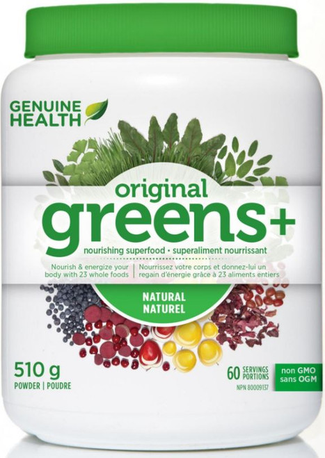 Genuine Health Original Greens+ Natural 510g