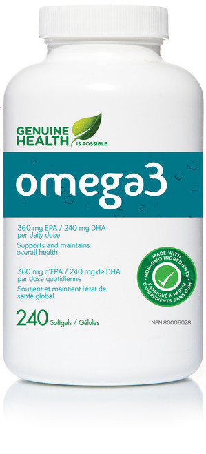 Genuine Health: omega3 (240 SoftGels)