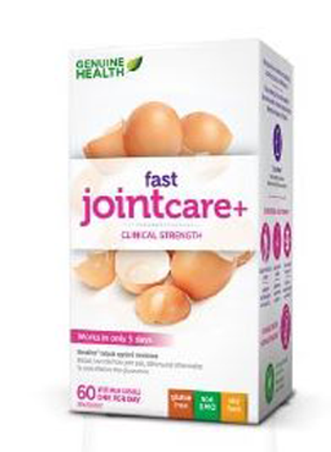 Genuine Health Fast Joint Care + 60 Vegetarian Capsules