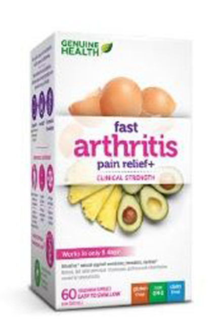 Genuine Health Fast Arthritis Pain Relief +