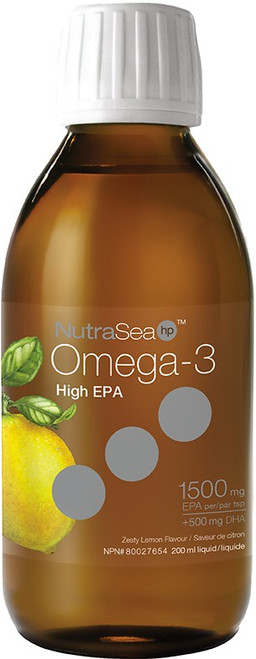 Nature's Way: NutraSea hp Omega- 3 Zesty Lemon Flavour (200ml)