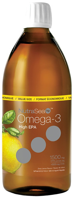 Nature's Way: NutraSea hp Omega-3 Zesty Lemon Flavour (500ml)