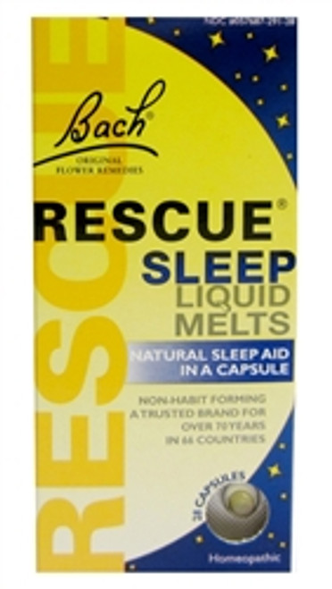 Bach: Rescue Night Liquid Melts (28 Capsules)