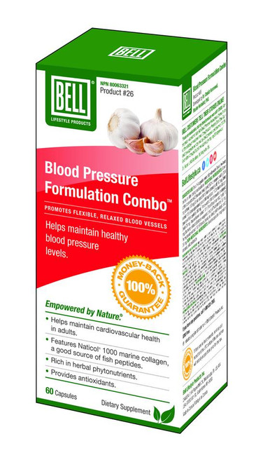 Bell: Blood Pressure Formulation (700mg) (60 Capsules)
