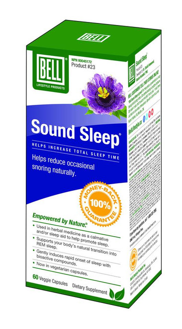 Bell: Sound Sleep (750mg) (60 Capsules)