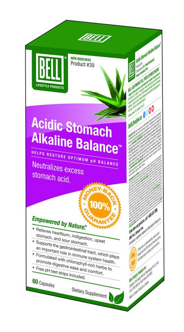 Bell: Acidic Stomach Alkaline Balance (60 Capsules)