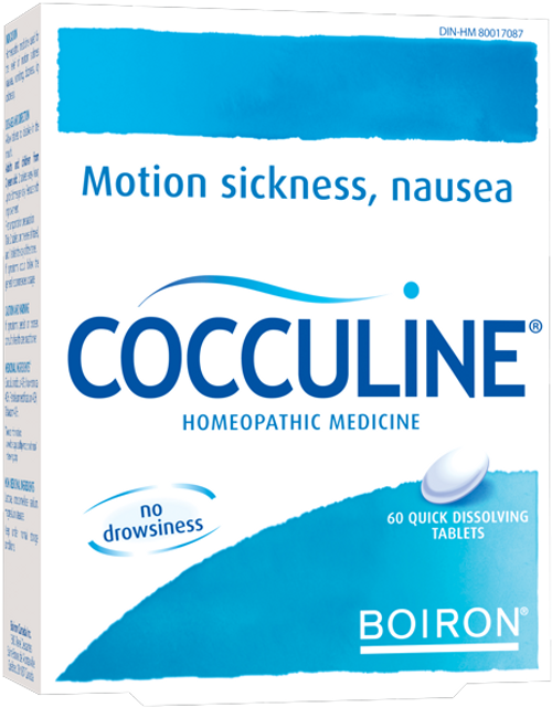 Boiron: Cocculine (60 Quick Dissolving Tablets)