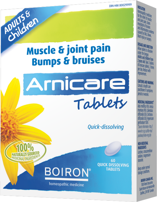 Boiron: Arnicare Tablets (60 Quick Dissolving Tablets)