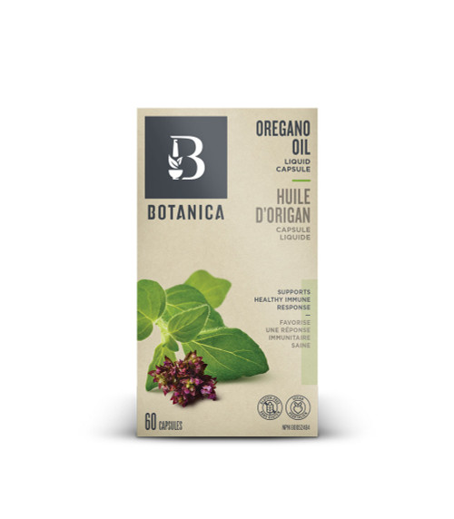 Botanica: Oregano Oil Liquid Capsule