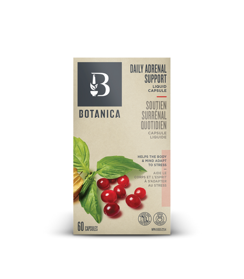 Botanica: Daily Adrenal Support Liquid Capsule