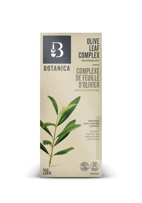 Botanica: Olive Leaf Complex - Peppermint (250ml)